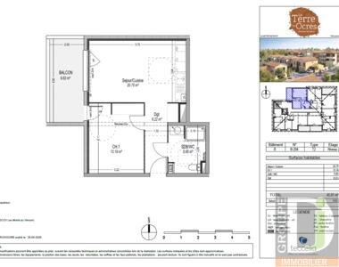 Vente Appartement 2 pièces 46m² Beaumont-lès-Valence (26760) - photo